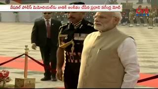 PM Modi Inaugurates Memorial for the Police Forces on National Police Commemoration Day | CVR News - CVRNEWSOFFICIAL