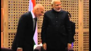 27,Nov 2014 - India's Modi meets Afghan President at 18th SAARC summit - ANIINDIAFILE