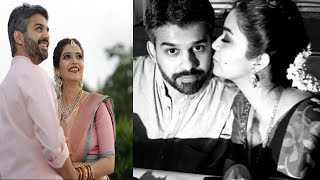Actress Colours Swathi With Husband Latest Unseen Photos | Colours Swathi With Husband - RAJSHRITELUGU