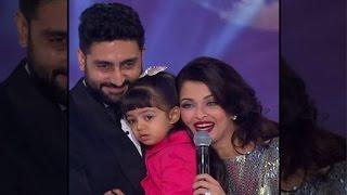 Abhishek honoured at wife Aishwarya's felicitation by Miss World 2014 - IANSINDIA