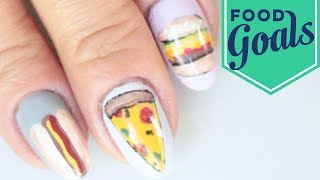 10 Junk Food Nail Art Designs | Food Network - FOODNETWORKTV