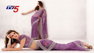 Uppada Saree - Purple Colour | Snehitha : TV5 News - TV5NEWSCHANNEL
