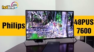 Philips 48PUS7600 - обзор 4K UHD телевизора на базе ОС Android