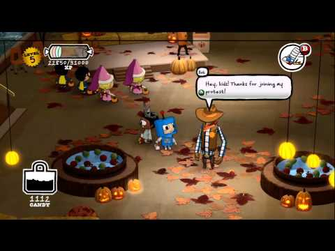 Let's Play Costume Quest Part 08[HD]: At the Mall