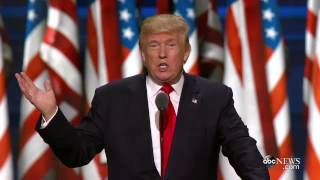 Trump Republican Convention Speech Highlights - ABCNEWS