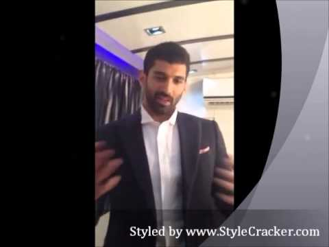 Aditya Roy Kapur styled by StyleCracker - Koffee with Karan
