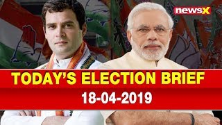 Lok Sabha Elections 2019: PM Narendra Modi vs Rahul Gandhi, BJP vs Congress, Election Brief - NEWSXLIVE