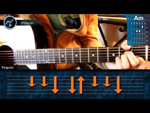 Como tocar When I was Your Man BRUNO MARS en Guitarra (HD) Tutorial Acordes