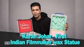 Karan Johar - First Indian Filmmaker wax Statue in Madame Tussauds - IANSINDIA