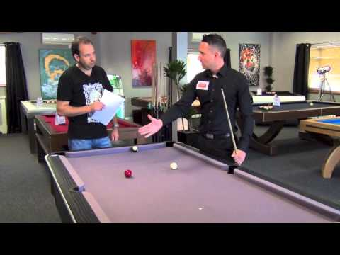 How to Play Pool: Lining Up Side Spin Shots