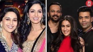 Madhuri Steps Into Late Sridevi's Shoes For 'Shiddat' | Sara Ali Khan Bags 'Simmba' Opposite Ranveer - ZOOMDEKHO