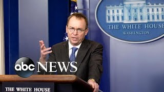 Mulvaney is set to replace Kelly as interim White House chief of staff - ABCNEWS