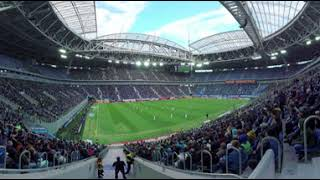 2018 FIFA World Cup: Saint Petersburg Stadium  (360 VIDEO) - RUSSIATODAY
