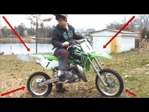KAWASAKI KX 65 & KIDS GONE WILD