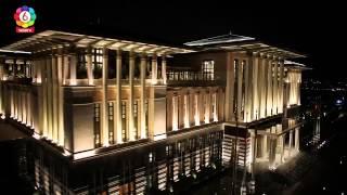 تصوير بانورامي لقصر أردوغان العظيم