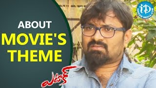 Anji About Movie's Theme || Attack Movie || Talking Movies with iDream - IDREAMMOVIES