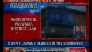 J&K: Ongoing encounter in Pulwama district; 3 terrorists killed - NEWSXLIVE
