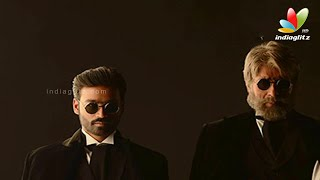 Amitabh and Dhanush Appear in a New Look in Shamitabh | Next Movie | Akshara Haasan