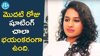 First Day Shoot Was Very Scary - Pooja Ramachandran || Talking Movies With iDream || #DeviSriPrasad - IDREAMMOVIES