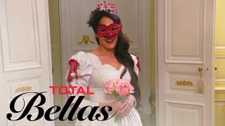 Nikki Bella Practices Her Walk Down the Aisle | Total Bellas | E! - EENTERTAINMENT