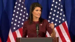 Nikki Haley: 'We're not going to run scared' from North Korea - WASHINGTONPOST