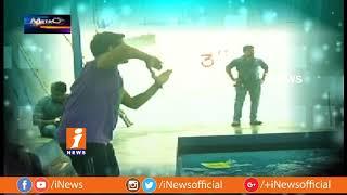 Youth Enjoying Summer Season With Aqua Zumba Water Dace In Hyderabad | Metro Colours | iNews - INEWS