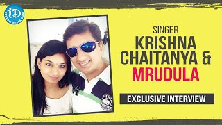 Singer Krishna Chaitanya & Mrudula Exclusive Interview | Talking Movies With iDream | Anitha - IDREAMMOVIES