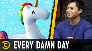Trapped on a Floating Unicorn & Paris's Open-Air Urinals - Every Damn Day - COMEDYCENTRAL