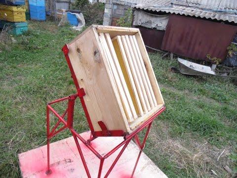 Станок для выдувания пчёл из корпусов