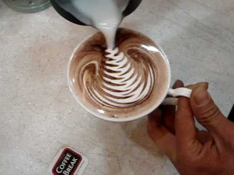Latte Art Coffee Break