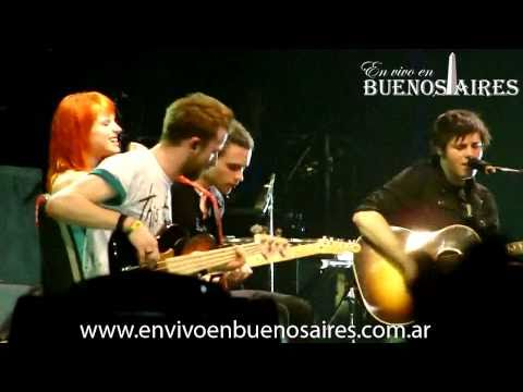 When it rains - Paramore (Buenos Aires 24-02-2011)