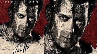 Salman Khan's JAI HO OFFICIAL POSTER - FIRST LOOK