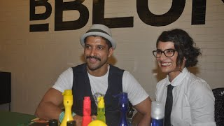 Farhan Akhtar At Launch Of Wife Adhuna Akhtar's B Blunt Salon - THECINECURRY