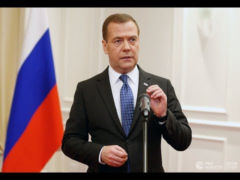 Итоговое интервью премьер-министра Д. Медведева журналистам российских телеканалов. 06.12.2018