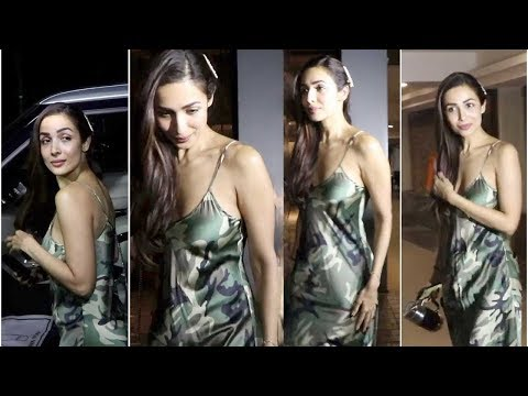 Malaika Arora  HOT LOOK at SPOTTED  Bandra