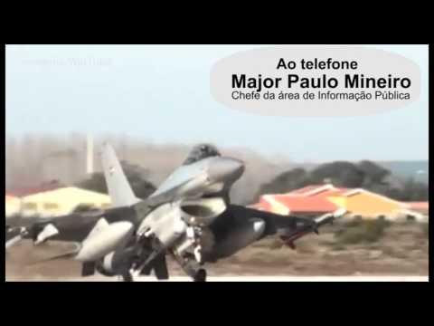 Acidente com F-16 em Monte Real