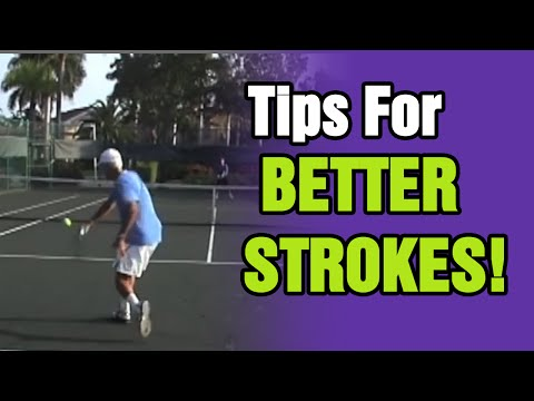 Tennis Lessons - Keep The Head Still For Better Strokes | Tom Avery Tennis 239.592.5920