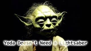 Royalty Free Yoda Doesn
