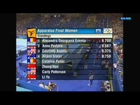 2004 Athens Olympics Beam Final