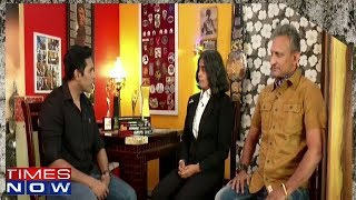Anand Narsimhan In An Exclusive Interview With The Combat Specialist Couple Of India - TIMESNOWONLINE