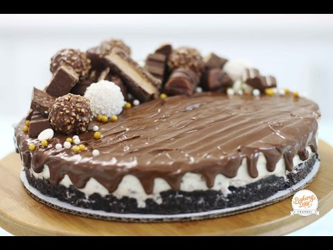 CHEESECAKE DE FERRERO ROCHER (SIN HORNO) - BAKING DAY
