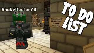 watch the youtube video Minecraft - Mission To Mars - To Do List! [15]
