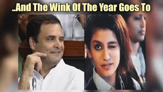 And The Wink Of The Year Goes To.. - ABPNEWSTV
