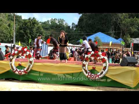 Mizo folk song followed by Chheihlam