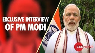 Watch exclusive interview of Prime Minister Narendra Modi - ZEENEWS