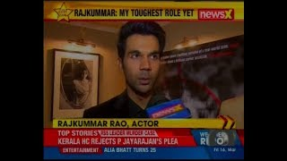 NewsX speaks to the team of 'Omerta'; this was my toughest role yet says actor Rajkummar Rao - NEWSXLIVE