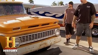 Counting Cars: A '63 Chevy Camper Hillbilly Limo - HISTORYCHANNEL