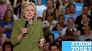 Clinton: I can't imagine Trump on a white horse - CNN