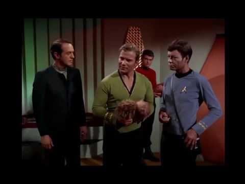 Tribbles do not like Klingons