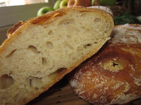 Рецепт хлеба чиабатта в домашних условиях